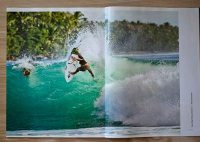 Marco Giorgi in Surfer's Magazine