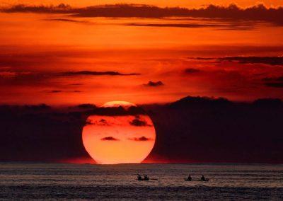 A Sunset in Krui - South Sumatra