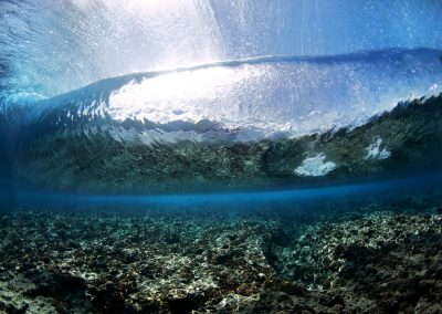 Underwater Teahupo'o